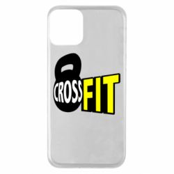 Чехол для iPhone 11 CrossFit  с гирей