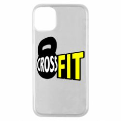Чехол для iPhone 11 Pro CrossFit  с гирей