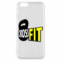 Чехол для iPhone 6/6S CrossFit  с гирей - FatLine