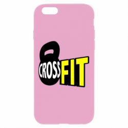 Чехол для iPhone 6 Plus/6S Plus CrossFit  с гирей