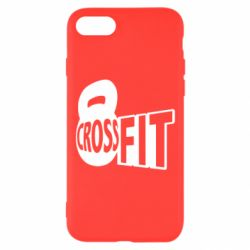 Чехол для iPhone 8 CrossFit  с гирей