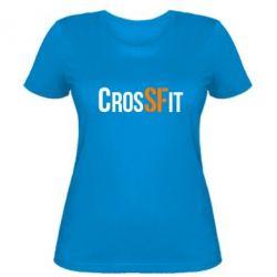 Женская футболка CrossFit SF - FatLine