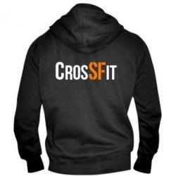Мужская толстовка на молнии CrossFit SF - FatLine