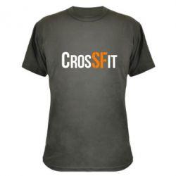 Камуфляжная футболка CrossFit SF - FatLine