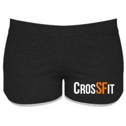 Женские шорты CrossFit SF - FatLine