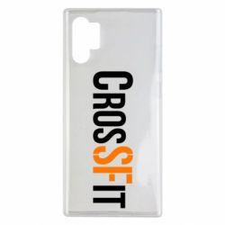 Чохол для Samsung Note 10 Plus CrossFit SF