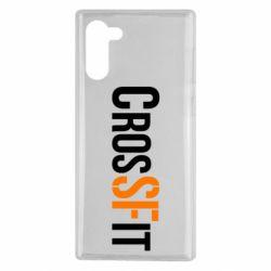 Чохол для Samsung Note 10 CrossFit SF