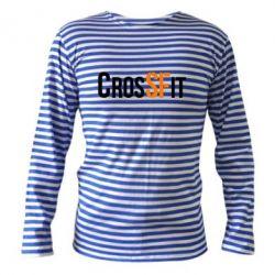 Тельняшка с длинным рукавом CrossFit SF - FatLine