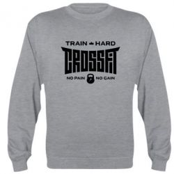 Реглан (свитшот) CrossFit Train Hard - FatLine