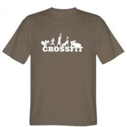 Мужская футболка Crossfit - FatLine
