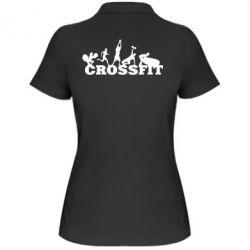 Женская футболка поло Crossfit - FatLine