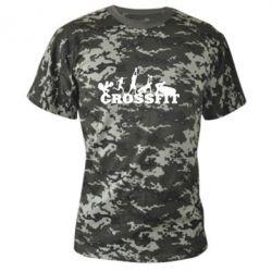 Камуфляжная футболка Crossfit - FatLine
