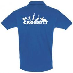 Мужская футболка поло Crossfit