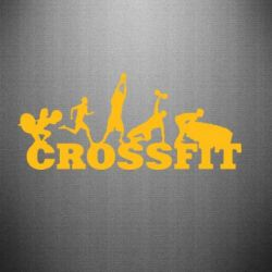 Наклейка Crossfit - FatLine