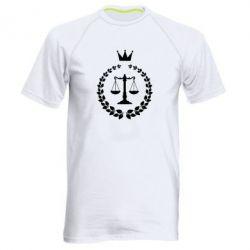 Купить Мужская спортивная футболка Crown for a lawyer, FatLine