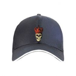 Кепка Crowned Skeleton