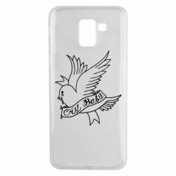 Чохол для Samsung J6 Cry Baby bird cries