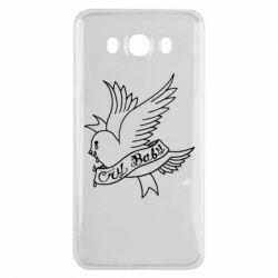Чохол для Samsung J7 2016 Cry Baby bird cries