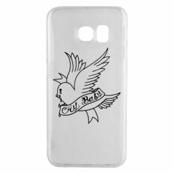 Чохол для Samsung S6 EDGE Cry Baby bird cries