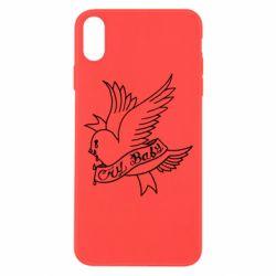 Чохол для iPhone Xs Max Cry Baby bird cries