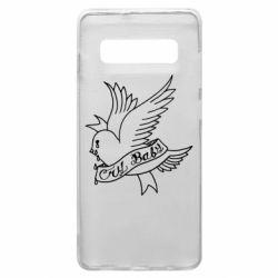 Чохол для Samsung S10+ Cry Baby bird cries