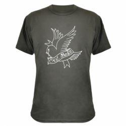 Камуфляжна футболка Cry Baby bird cries
