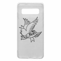 Чохол для Samsung S10 Cry Baby bird cries