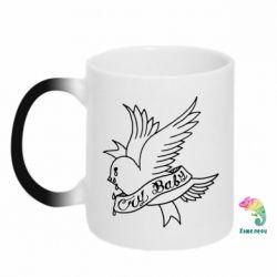 Кружка-хамелеон Cry Baby bird cries