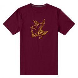 Чоловіча стрейчева футболка Cry Baby bird cries