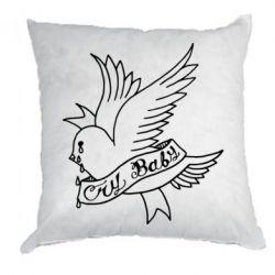 Подушка Cry Baby bird cries