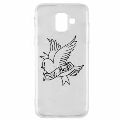 Чохол для Samsung A6 2018 Cry Baby bird cries