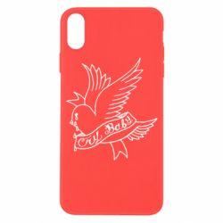 Чохол для iPhone X/Xs Cry Baby bird cries