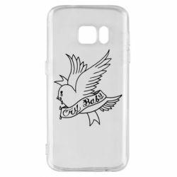 Чохол для Samsung S7 Cry Baby bird cries