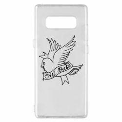 Чохол для Samsung Note 8 Cry Baby bird cries