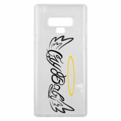 Чохол для Samsung Note 9 Cry Baby with wings and halo