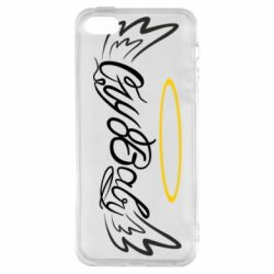 Чохол для iphone 5/5S/SE Cry Baby with wings and halo