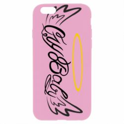 Чохол для iPhone 6/6S Cry Baby with wings and halo