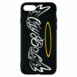 Чохол для iPhone 8 Cry Baby with wings and halo