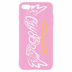 Чохол для iPhone 8 Plus Cry Baby with wings and halo