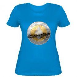 Женская футболка Cryptomoneta