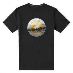 Мужская стрейчевая футболка Cryptomoneta