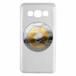 Чехол для Samsung A3 2015 Cryptomoneta