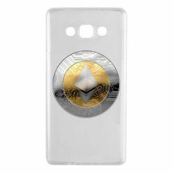 Чехол для Samsung A7 2015 Cryptomoneta