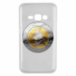 Чехол для Samsung J1 2016 Cryptomoneta