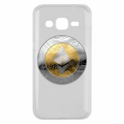 Чехол для Samsung J2 2015 Cryptomoneta