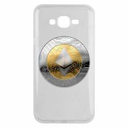 Чехол для Samsung J7 2015 Cryptomoneta