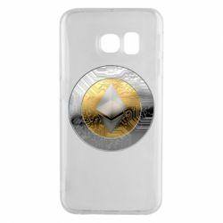 Чехол для Samsung S6 EDGE Cryptomoneta