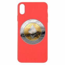 Чехол для iPhone Xs Max Cryptomoneta