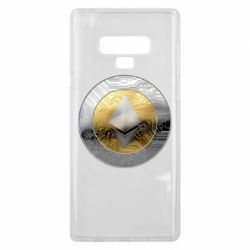 Чехол для Samsung Note 9 Cryptomoneta