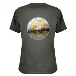 Камуфляжная футболка Cryptomoneta